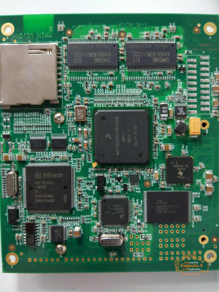 Original xentry PCB