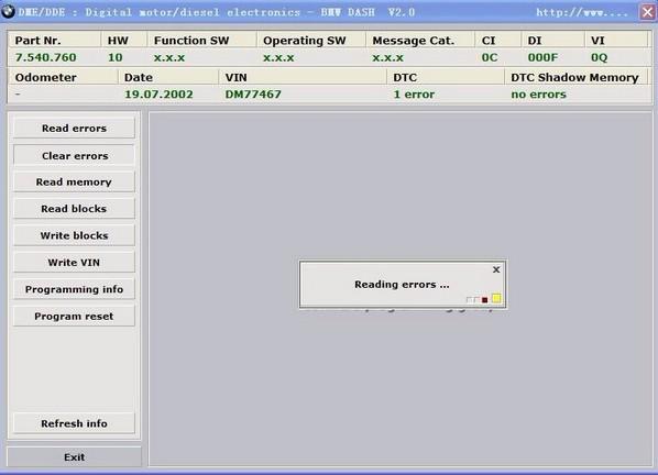 BMW SCANNER 2 0 1/2 20/2 10 diagnostic & programming device
