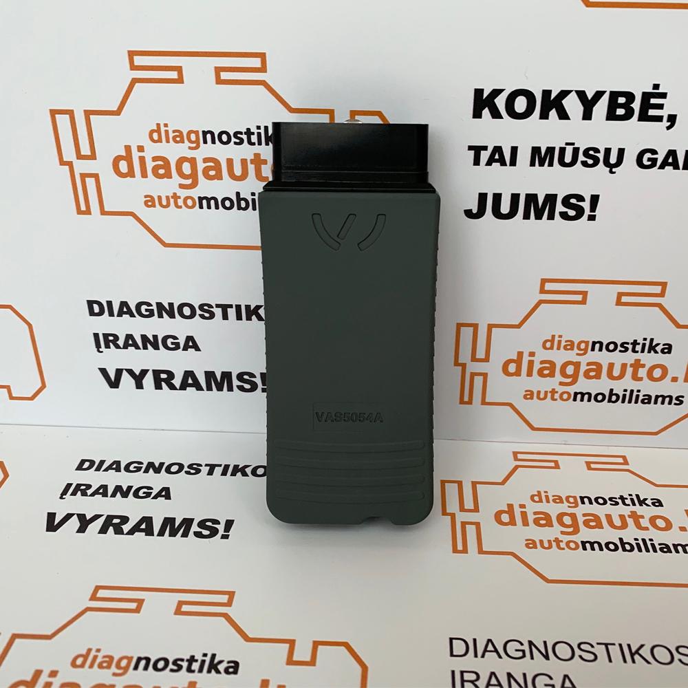 VAS5054A 1:1 + A5780A Pilnas OKI Chipas + AMB2300 BLUETOOTH profesionali diagnostikos & programavimo įranga