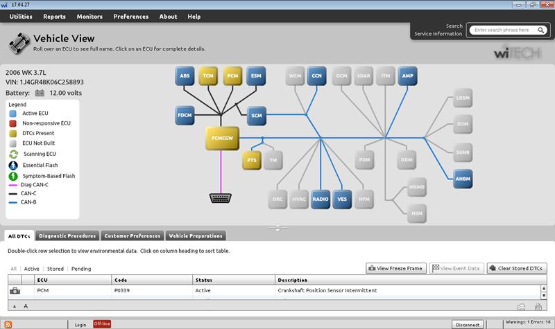 Witech Micropod-II software