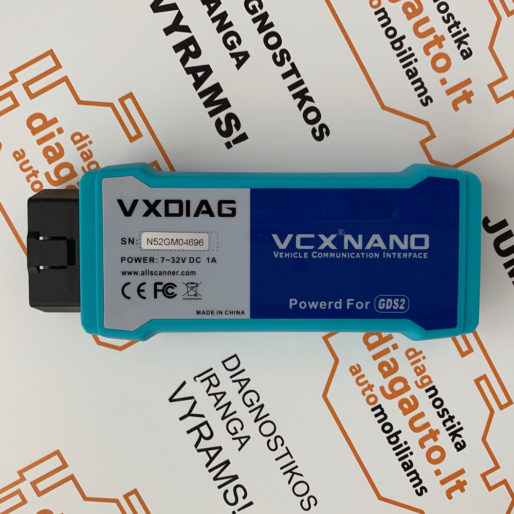 VXDIAG GM & OPEL diagnostic programming device