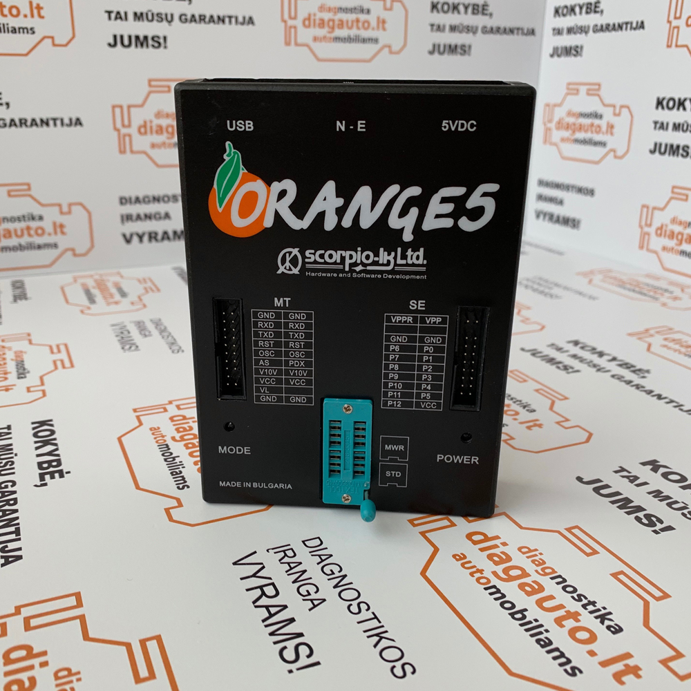 OEM Orange 5 professional memory and microcontrollers programming device