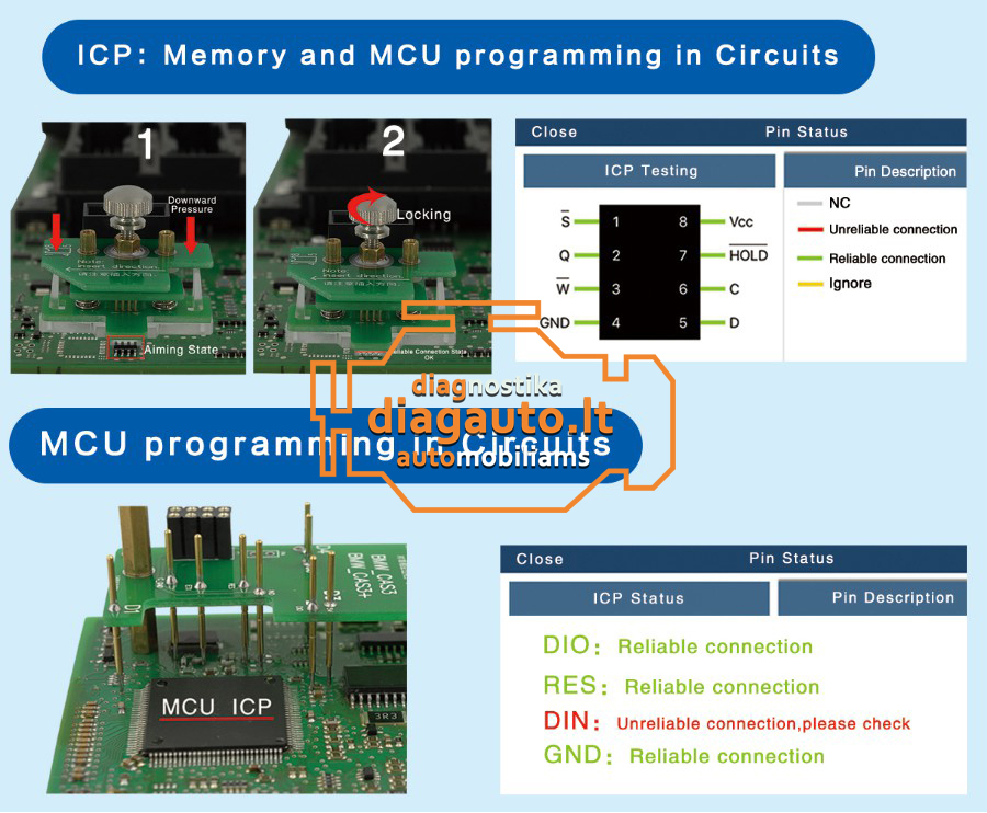Yanhua ACDP Programmer + Modules 01-04 BMW (Full BMW package)