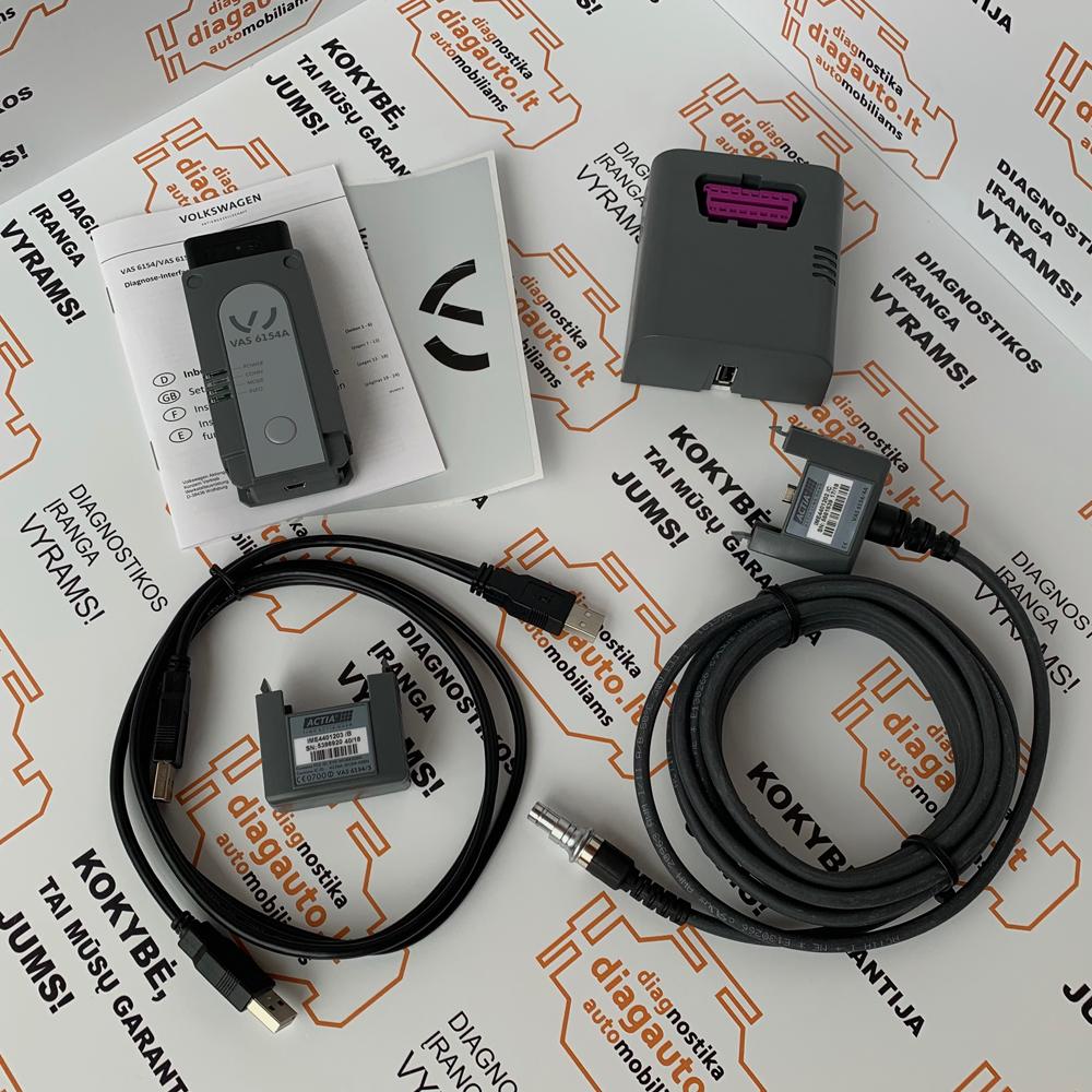 Actia VAS6154A Wi-Fi+USB professional, ODIS diagnostic and programming  device