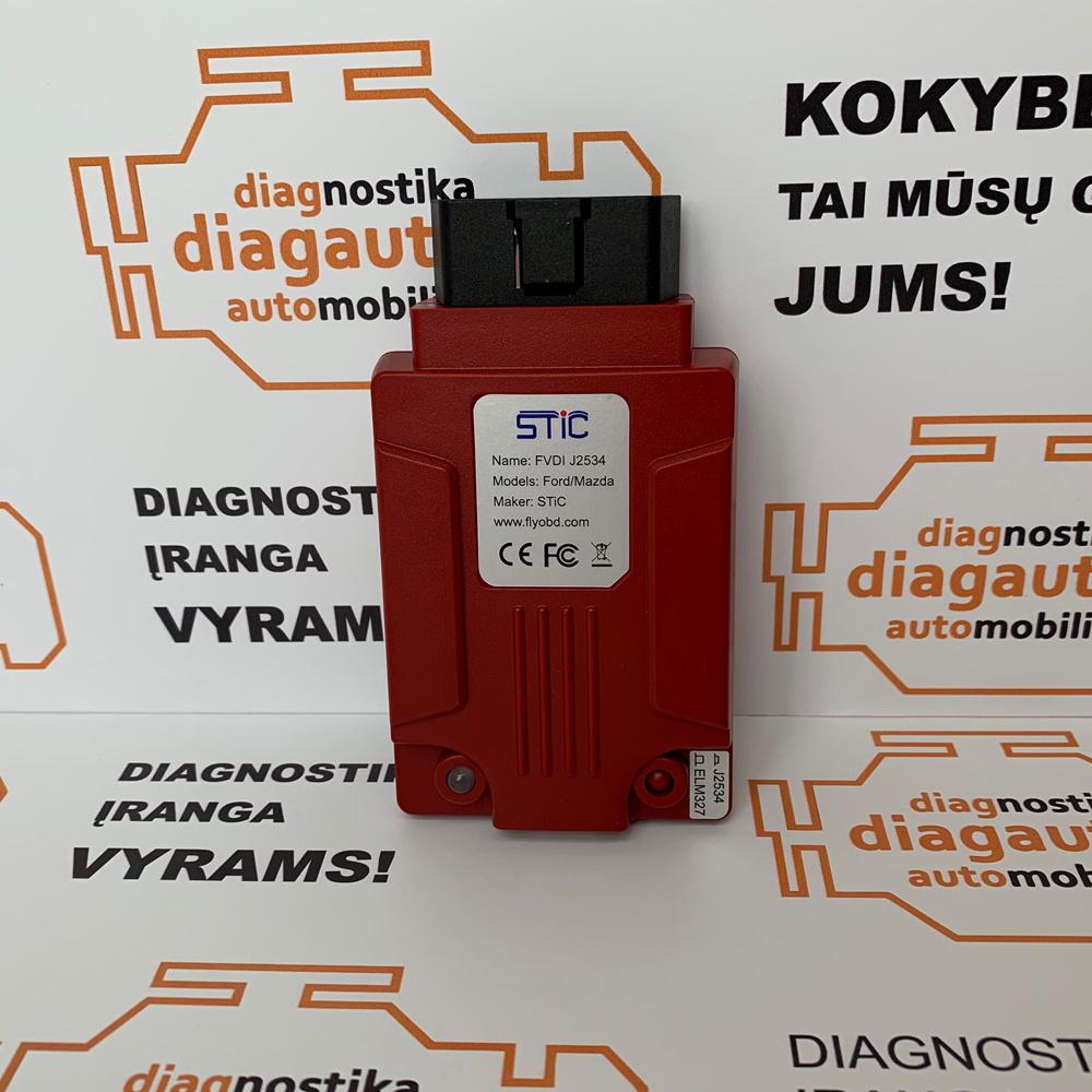 FVDI J2534 IDS+SDD+TIS+GDS2+ELM327 diagnostic and programming device  (FORD/MAZDA/JAGUAR/LAND ROVER)