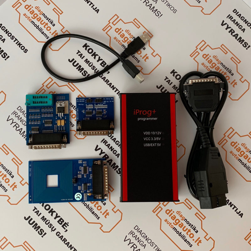 iPROG+ PRO key programming, odometer correction, airbag reset, ECU  programming device