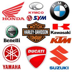 HONDA /SYM / KYMCO / YAMAHA / VESPA / SUZUKI / PGO / AEON / HARTFORD / BENELLI / BMW / KTM / Kawasak / DUCATI / HARLEY-DAVIDSON